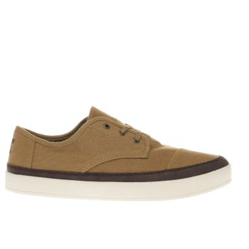 Toms Tan Paseo Sneaker Mens Shoes