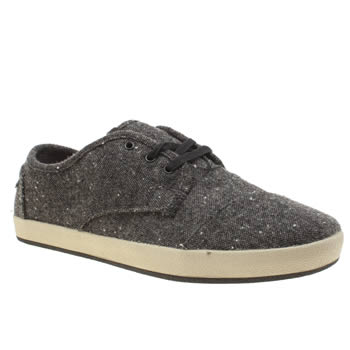 Toms Grey Paseo Sneaker Mens Shoes