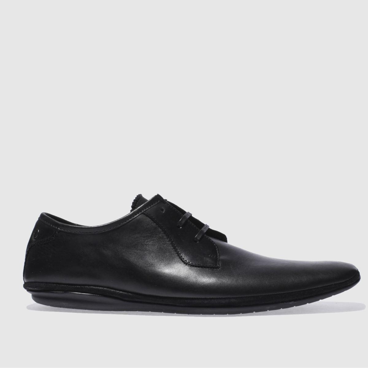 Base London Black Pimple 3eye Lace Shoes