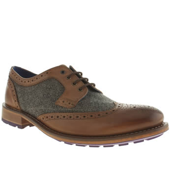 Mens Ted Baker Tan Cassiuss 3 Shoes