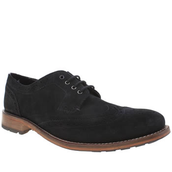 Mens Ted Baker Navy Casuede Shoes
