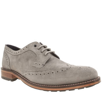 Ted Baker Light Grey Casuede Shoes