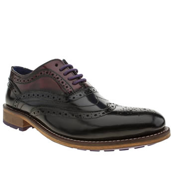Mens Ted Baker Black & Navy Rissh 2 Shoes