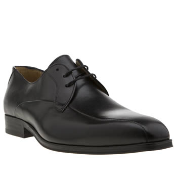 H By Hudson Black Tram Gibson Mens Shoes