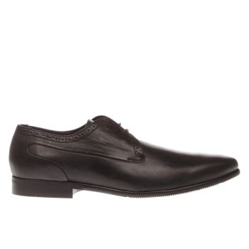H By Hudson Black Waltz Gibson Mens Shoes