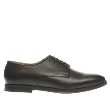 H By Hudson Black Brincliffe Gibson Mens Shoes