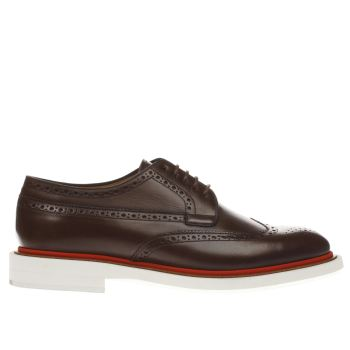 Paul Smith Shoe Ps Brown Junior Mens Shoes
