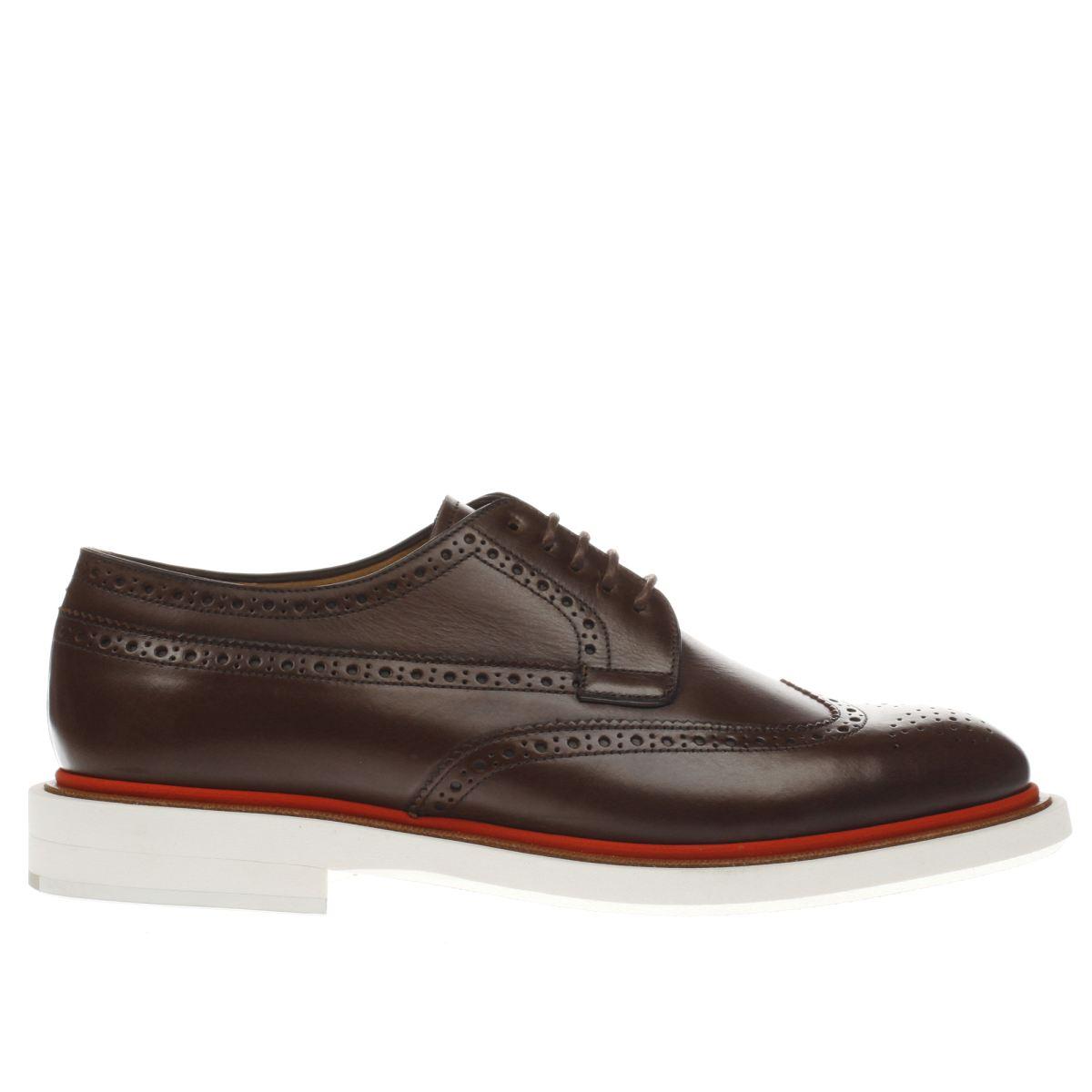 paul smith shoe ps Paul Smith Shoe Ps Dark Brown Junior Shoes