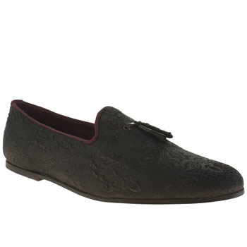 Mens Ted Baker Black Treal Shoes