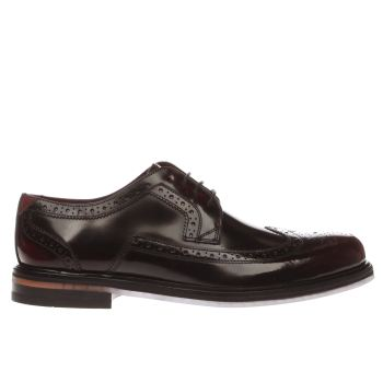 TED BAKER BURGUNDY TTANUM SHOES