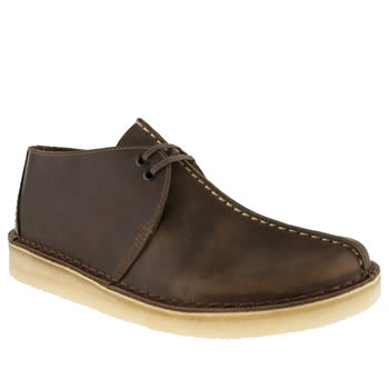 Clarks Originals Brown Clarks Desert Trek Shoes