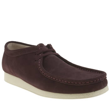 Clarks Originals Burgundy Wallabee Aerial Shoes