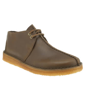 Clarks Originals Brown Desert Trek Shoes