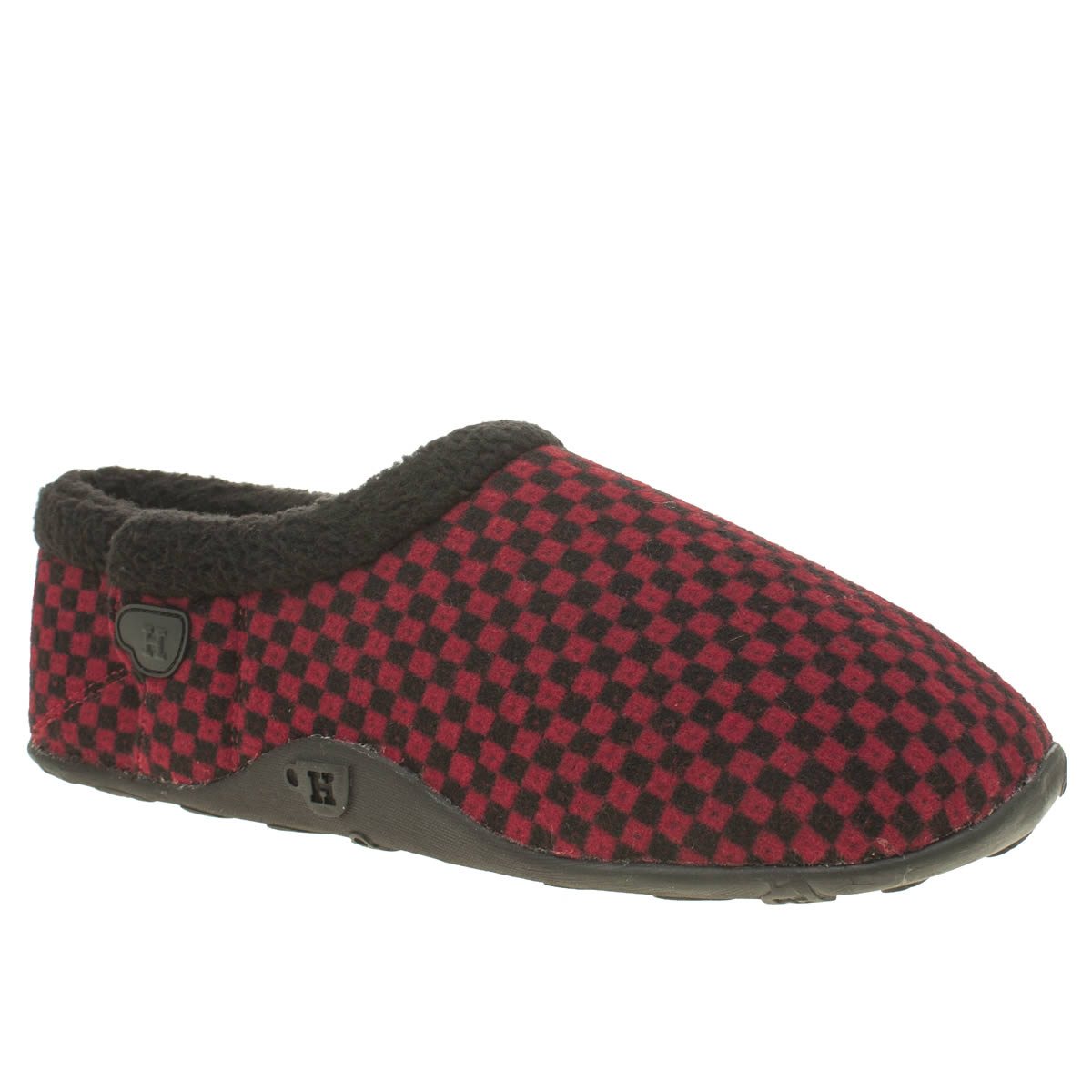 Homeys Homeys Black & Red Ollie Slippers