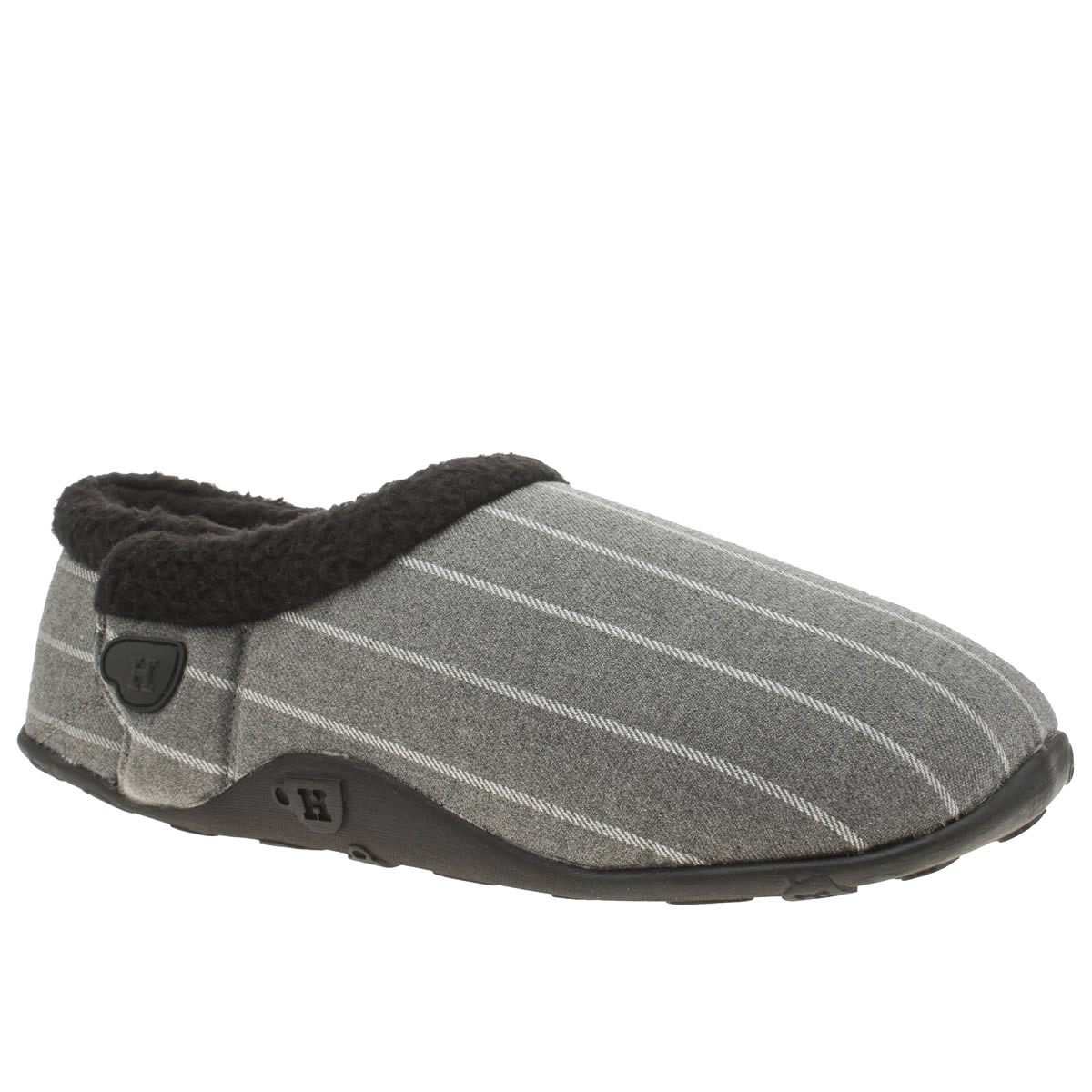 Homeys Homeys Grey & Black Vinne Slippers