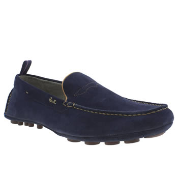 Mens Paul Smith Shoes Navy Rico Shoes