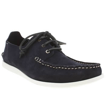 Mens Paul Smith Shoes Navy Dagama Shoes