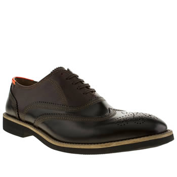 Mens Paul Smith Shoes Black & Brown Baer Shoes