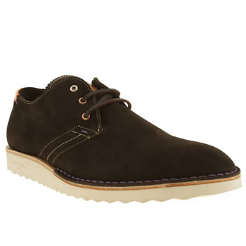 mens paul smith shoes dark brown saturn shoes