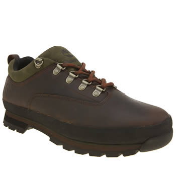 Timberland Brown Euro Hiker Low Shoes
