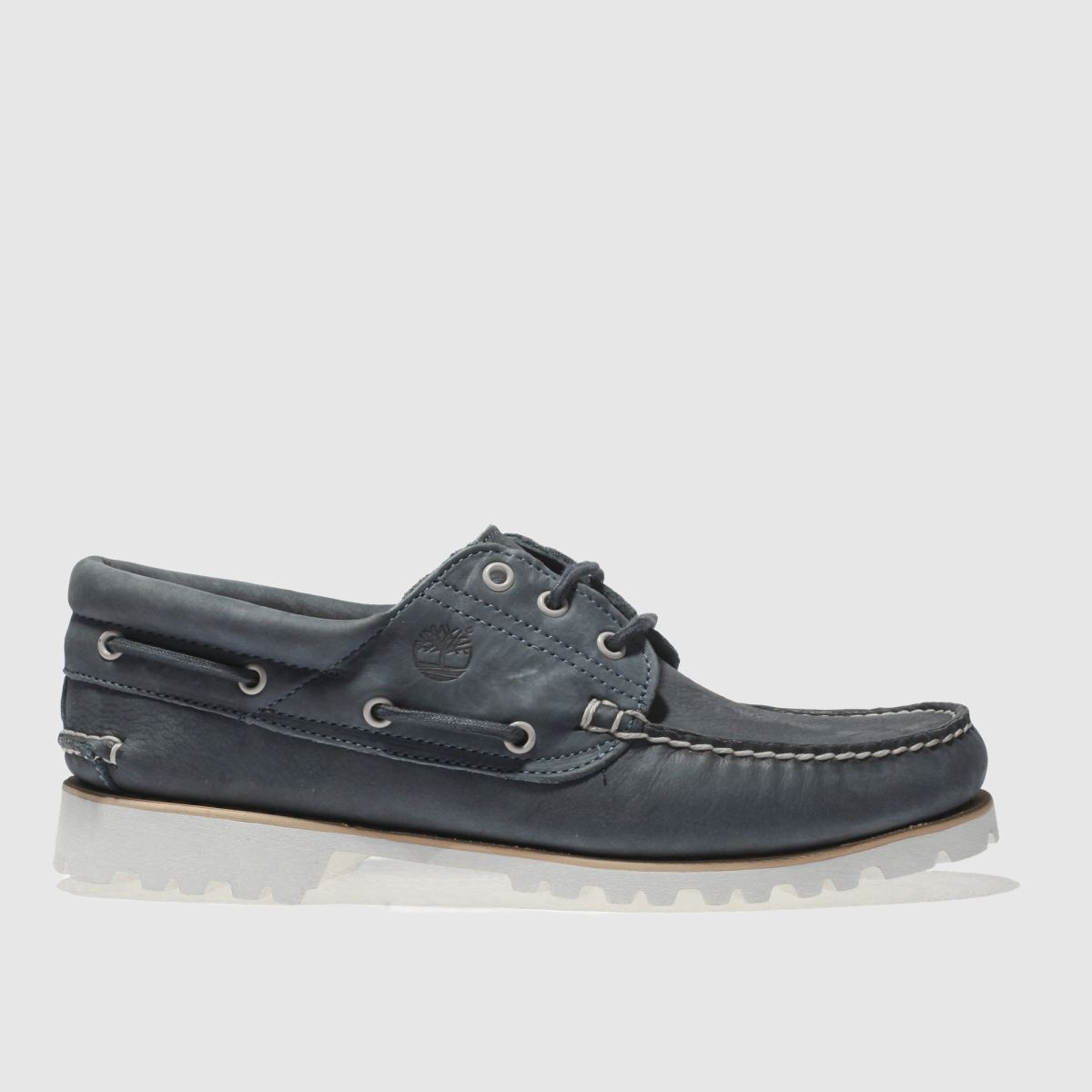Timberland Navy Chilmark 3 Eye Shoes