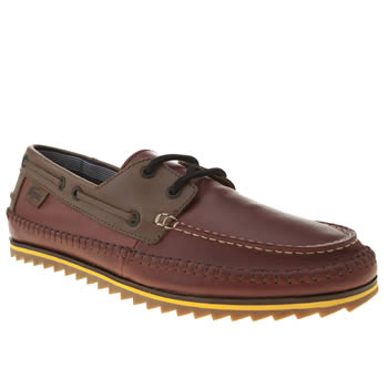 Lacoste Burgundy Sauville 4 Shoes
