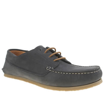 Red Or Dead Navy Mr Berry 4 Eye Moc Mens Shoes