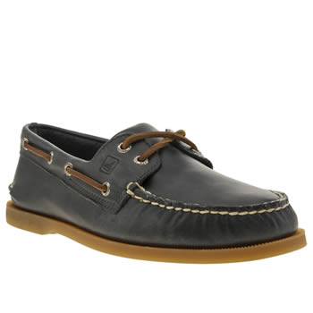 mens sperry navy a/o 2-eye yacht club shoes