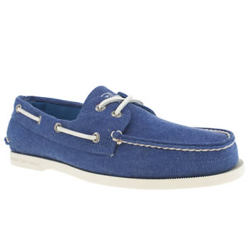Sperry Blue A/o Stonewash Shoes