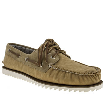 mens sperry natural authentic original razor shoes