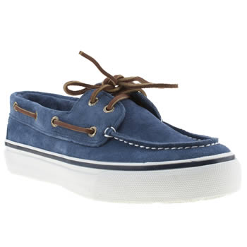 Mens Sperry Navy Bahama Shoes