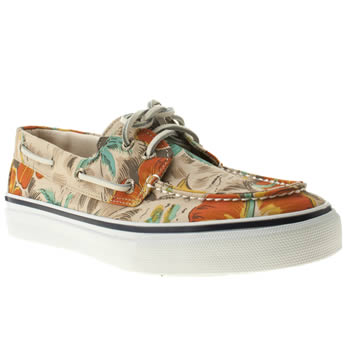 Sperry Multi Bahama Canvas Shoes