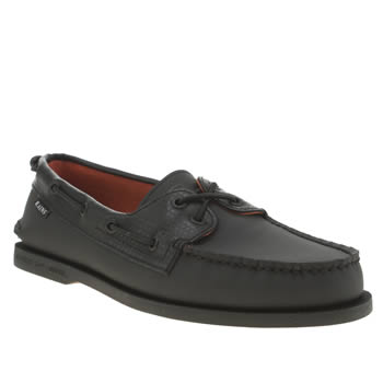 Sperry Black A/o 2 Eye Bungee Rains Shoes