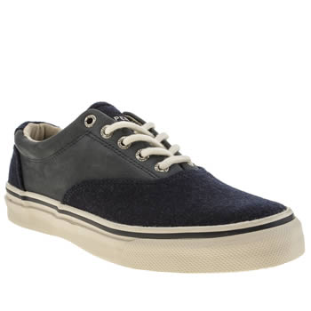 Sperry Navy Striper Cvo Wool Shoes