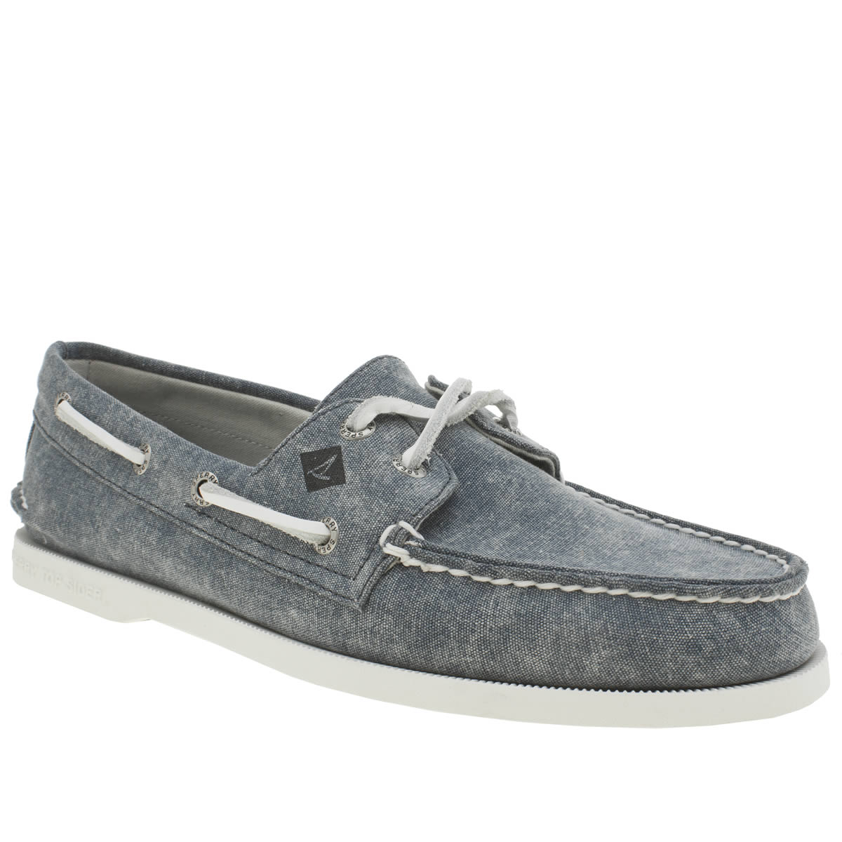 Sperry Sperry Navy A/o 2 Eye White Cap Shoes