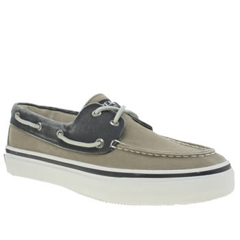 Mens Sperry Natural Bahama 2 Eye Shoes