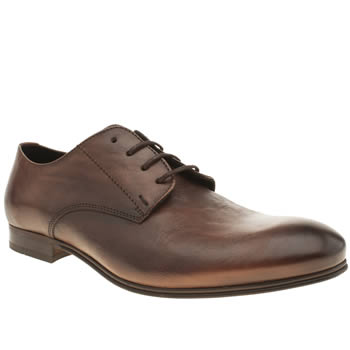 Mens H By Hudson Brown Vermont Derby Shoes