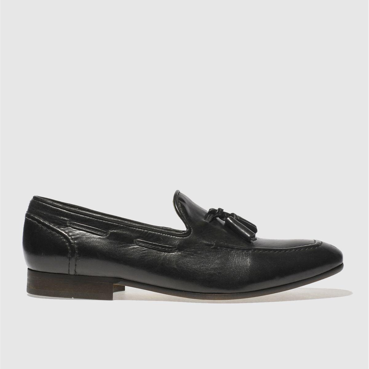 h by hudson black rene tassel shoes