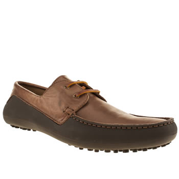 mens h by hudson brown targa boater shoes