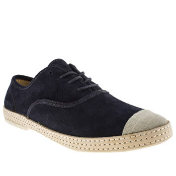 H By Hudson Navy Keelson Wrap Oxford Shoes