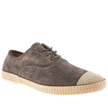 H By Hudson Grey Keelson Wrap Oxford Shoes