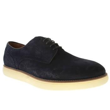 H By Hudson Navy Higgs Ice Derby Shoes