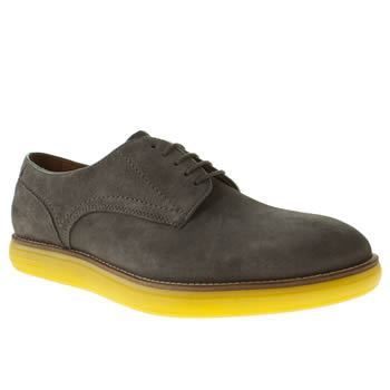 H By Hudson Grey Higgs Ice Derby Shoes