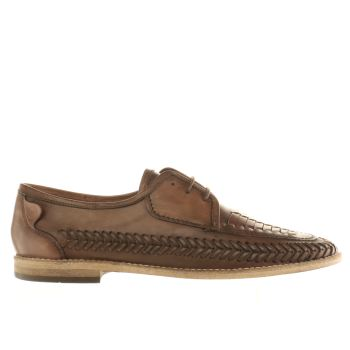 H By Hudson Brown Casablancea Weave Mens Shoes