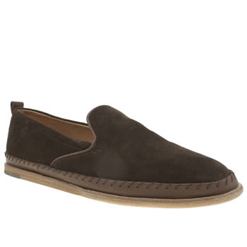 H By Hudson Brown Rio Stitch Slip Shoes