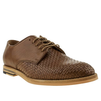 mens h by hudson tan hallam weave shoes