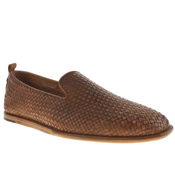 Mens H By Hudson Tan Rio Weave Shoes
