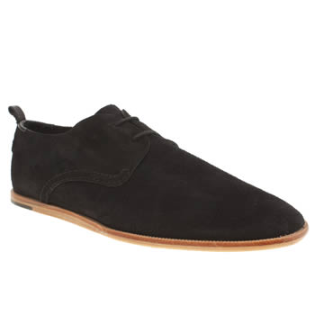 H By Hudson Black Rio 2 Tie Shoes