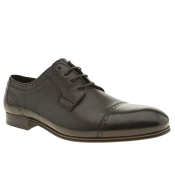 H By Hudson Black Vermont Cap Gibbson Shoes