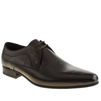 H By Hudson Dark Brown Laurey 2 Eye Shoes